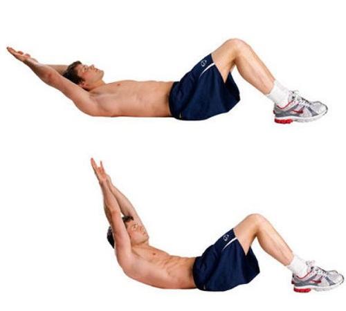 tập cơ bụng 6 múi